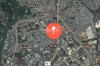 Bán nhà đất thổ cư 130m2, KDC An Bình, trung tâm TP Biên Hòa, cách Xa Lộ Hà Nội 200m