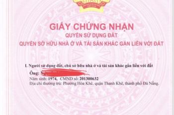 Chính chủ cần bán gấp nhà ngay Trung tâm Thành phố Đà Nẵng. LH: 0913.400.047
