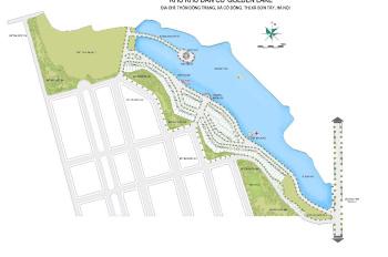 Chỉ 600 triệu có ngay nền đất vị trí cực đẹp tại Golden Lake Hòa Lạc, view hồ trực diện