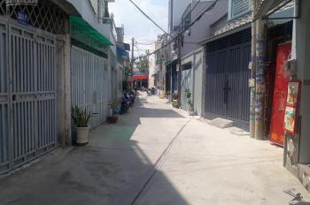 Bán nhà 1 trệt 2 lầu 5x20m, giá 4,7 tỷ, HXH đường Dương Thị Mười, P. Tân Chánh Hiệp, Q12