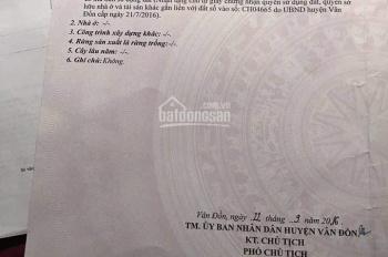 Bán 68,3m2 ngã 3 đường xóm, đất phù hợp xây nhà ở thôn 9 xã Hạ Long, Vân Đồn