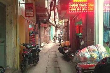 Bán nhà Trương Định, Hai Bà Trưng 1,5 tỷ, diện tích 30m2, mặt tiền 6.8m, 2 tầng