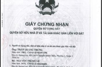 Chính chủ cần bán gấp nhà đường Nguyễn Đình Chiểu, q3. Nhà 4,5 tấm có, LH chính chủ 0911538866