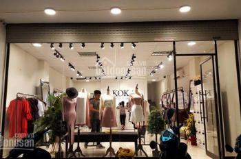 Cho thuê cửa hàng MP Bà Triệu 60m2, MT 5m, giá 39tr/th, LH: 0948990168 Mr. Duy