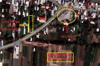 Bán đất MT DT 12x84m (600m thổ cư) TL942, TT Chợ Mới, gần siêu thị, bến xe 100 mét