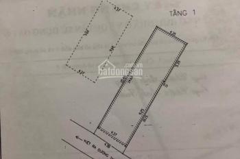 Bán nhà 2,5 mê 4,35x15,46m, hướng Tây Nam, kiệt 3,5m K32 Thanh Sơn- Hải Châu