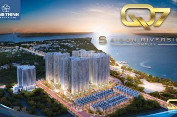 Chính chủ bán gấp căn 49m2, 2PN dự án Q7 SG Riverside, giá 1.5 tỷ, tầng đẹp, LH 0908833902
