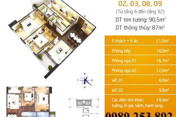 Bán chung cư N01T5 Ngoại Giao Đoàn, giá tốt nhất. LH 0989 253 892