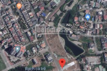 Bán gấp lô đất biệt thự 8x16m, khu C An Phú An Khánh, Quận 2 cách Lương Định Của 30m, xây dựng ngay