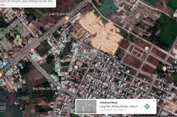 Bán lô đất biệt thự khu nhà ở Gò Cát - TP Bà Rịa