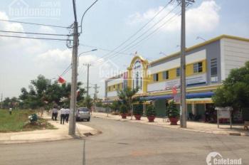 Gia đình đi nước ngoài cần bán gấp nền đất thổ cư, KCN Tân Đức - Đức Hòa, giá 850tr/125m2