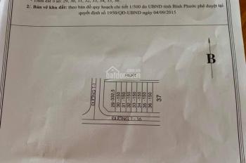 Đất nền tái định cư Becamex GĐ1 đường T16, giá chỉ 520tr