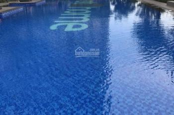 Cho thuê căn hộ Q. 2 cách Q. 1 chỉ 15 phút căn góc 2 phòng ngủ, có nội thất  LH 0938874666