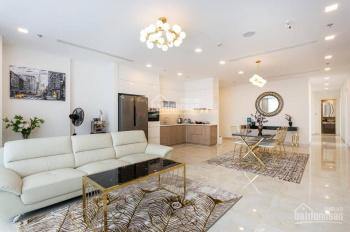Cho thuê căn hộ Vinhomes Ba Son 160m2, có 4PN, nội thất Châu Âu mới 100%, view sông, 0977771919