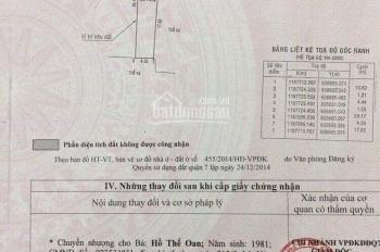 Đất rẻ HXH quay đầu đường số 52 Nguyễn Thị Thập, Q. 7, DT 133,8m2, XDTD, thổ cư 100%. LH 0931961616