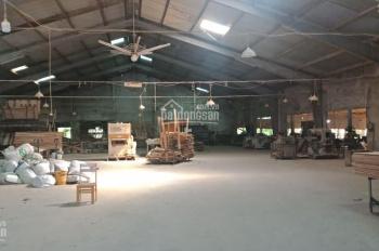 Cho thuê kho xưởng 2400m2 đối diện khu công nghiệp Hòa Cầm, thích hợp làm xưởng nội thất