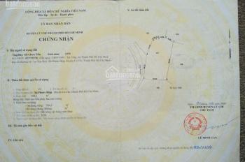 Đất Nền Củ Chi, 549 triệu/90m2, có sổ công chứng