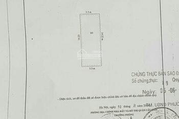Bán nhà phân lô phố Phạm Thận Duật, ô tô vào nhà. Tặng full nội thất, diện tích 47m2, giá 6 tỷ 2