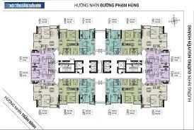 Bán căn hộ chung cư FLC 18 Phạm Hùng, tầng 1012 DT 45m2, giá bán 24tr/m2. LH 0912.700.518