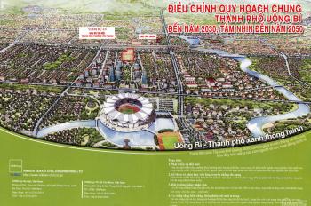 Cơ hội đầu tư đất nền sinh lời gấp đôi tại Uông Bí, Quảng Ninh. LH: 0912 824 258