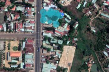 Cho thuê nhà + mặt bằng dài hạn DT 28m x 55m mặt tiền đường Phú Riềng Đỏ. Gần vòng xoay Hùng Vương