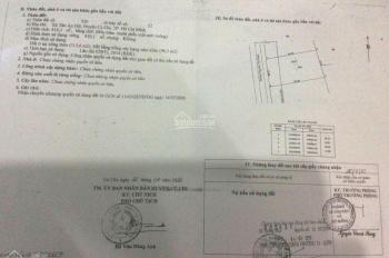 Cần bán lô đất mặt tiền đường Nguyễn Thị Rành, xã Tân An Hội, huyện Củ Chi, DT 390m2, 1 tỷ 350