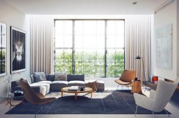 Cho thuê căn hộ Flemington, giá 15tr/tháng, 87m2, 2PN, tầng cao view đẹp. LH: 0932192039 Hiếu