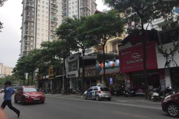 Bán đất xây chung cư, khách sạn, mặt phố Vũ Tông Phan, 897m2, mặt tiền 35m, lô góc, 35 tỷ