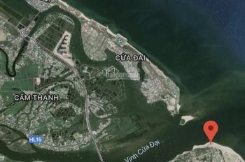 Cần bán 1818m2 đất sổ đỏ mặt biển Cửa Đại - Quảng Nam