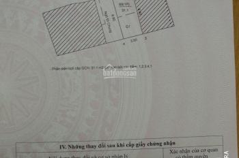 Bán nhà ngõ 45 phố Cự Lộc, quận Thanh Xuân, DT 31,15m2 x 5 tầng, giá 2,86 tỷ. LH 0904090102