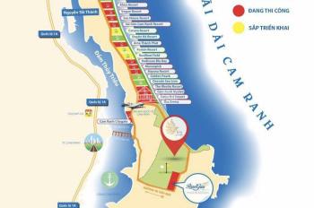 Đất nền siêu dự án bãi dài Cam Ranh bao gồm sân golf, casino, view biển, giá chỉ từ 21tr/m2.