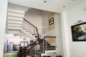 Bán nhà mặt tiền khu An Nhơn sát Dương Đình Nghệ, nhà 4 tầng mái, đúc 5 phòng, giá 6,15 tỷ