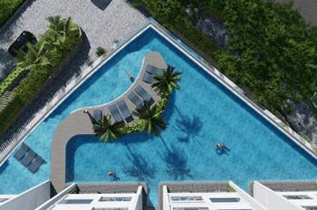 Chính chủ bán gấp căn 2PN, view hồ bơi tầng thấp, cam kết giá rẻ nhất dự án Compass One, 0931130896