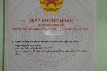 Chính chủ bán nhà ngay TTHC đường Nguyễn Tri Phương, Bình Dương