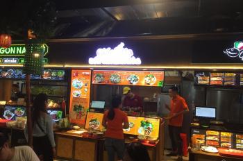 Sang gian hàng ăn trong TTTM Gigamall, giá sang rất tốt, khách cực đông