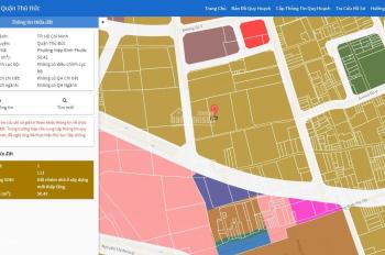 Bán đất hẻm 505 Quốc Lộ 13, gần Vạn Phúc Riverside, Hiệp Bình Phước, SHR 50.4m2, giá 3.3 tỷ