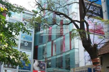 Cho thuê nhà mặt phố Phạm Hồng Thái, DT 55m2 x 6t, MT 4.5m, giá 40 tr/th. LH em Hiếu 0974739378