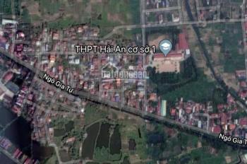 Bán lô đất 60m2 hướng nam trong TĐC 2 phường Nam Hải, quận Hải An, Hải Phòng