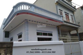 Đất nền thổ cư sổ đỏ Đông Anh giá chỉ 12tr/m -Tặng kèm nhà mái bằng 1 tầng về ở luôn