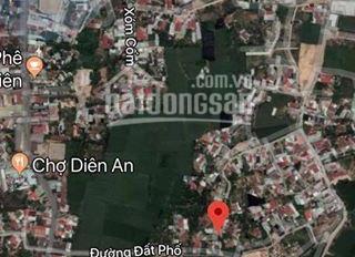 Bán lô Diên An, duy nhất giá chỉ 592 triệu, thổ cư 100%, LH: 036.347.5852