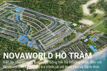Ưu đãi mới nhất dự án Novaworld Hồ Tràm TT chỉ 870 triệu - 1%/ tháng, chiết khấu 4% LH 0938 995 831