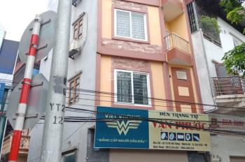 Cho thuê nhà mặt phố Võ Chí Công thông 53m2 x 5 tầng, MT 6.3m, có hầm xe lớn