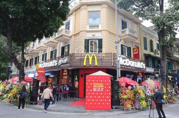 Cho thuê cửa hàng mặt phố Đinh Tiên Hoàng view hồ, DT 60m2, MT 3.5m, giá 62tr. LH Hiếu 0974739378
