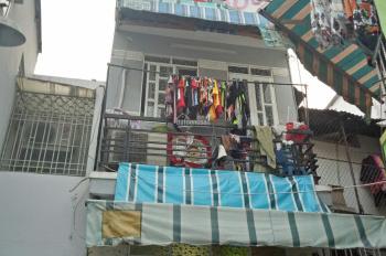 Nhà 2 lầu 232D/7 Hưng Phú, P8, Q8, xây ở kiên cố 2PN, sổ hồng riêng gần cầu Chữ Y, giá 1,75 tỷ