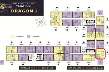 Cần sang lại căn hộ 92m2 Dragon 2B, Thanh toán chỉ 1,150 tỷ sở hữu căn hộ, chính chủ thiện chí