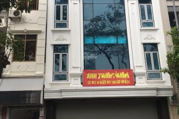 Cho thuê nhà mặt phố Lê Hồng Phong 163m2 x 5 tầng, MT 7.5m, thông sàn, có thang máy, 0976.075.019