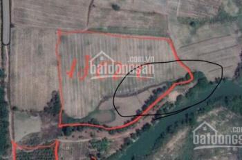 Cần bán đất ven Quốc Lộ 1A 18000m2, khu dân cư hiện hữu, gần bờ sông Bình Thuận