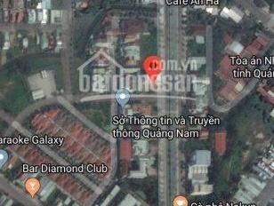 Đất vip 2 mặt tiền cực đẹp Hùng Vương, Tam Kỳ