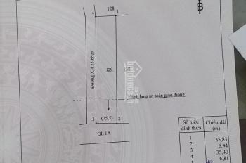 Bán nhà góc 2 mặt tiền Quốc Lộ 1A, xã Xuân Hiệp, H. Xuân Lộc, T. Đồng Nai, DT: 7 x 35m, 2,8 tỷ
