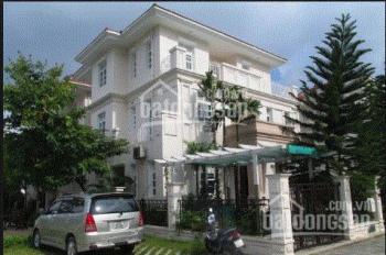 Nhà cần bán căn biệt thự 2 lầu kiểu Thái DT 10,5x19m, SHR MT Nguyễn Hữu Trí, Bình Chánh, giá 2tỷ2